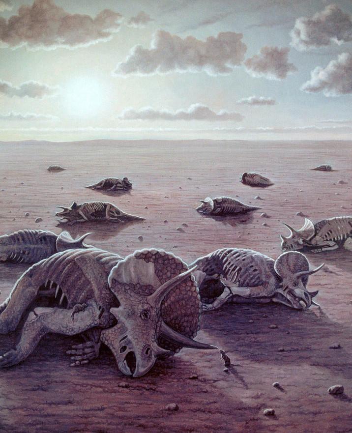 Про нефть, границы и динозавров